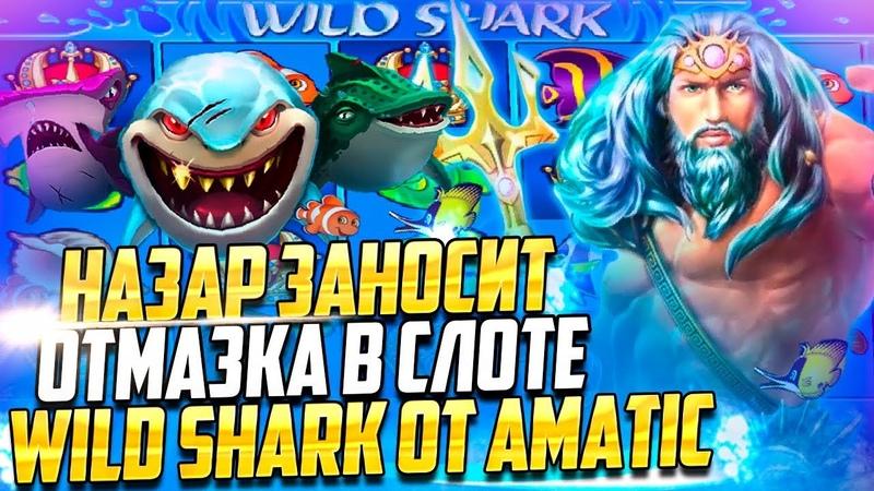 БОЛЬШОЙ ЗАНОС В ВАЙЛД ШАРК! l Wild Shark от Amatic в VAVADA l Nazar Casino