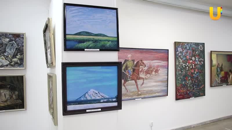 В картинной галерее Стерлитамака проходит выставка художников юга Башкирии видео от 15 01 2021 года