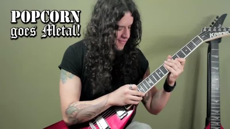 Charlie Parra Del Riego Popcorn Metal Guitar Cover