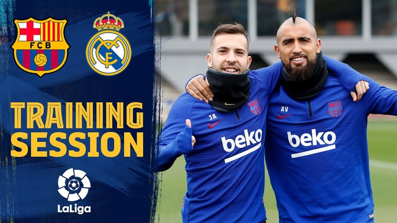 Preparations for the Clásico underway!