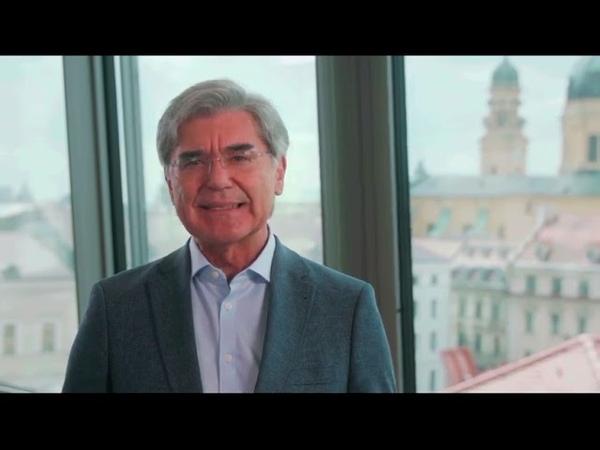 Rede von Joe Kaeser Siemens auf dem Grünen Parteitag 2021