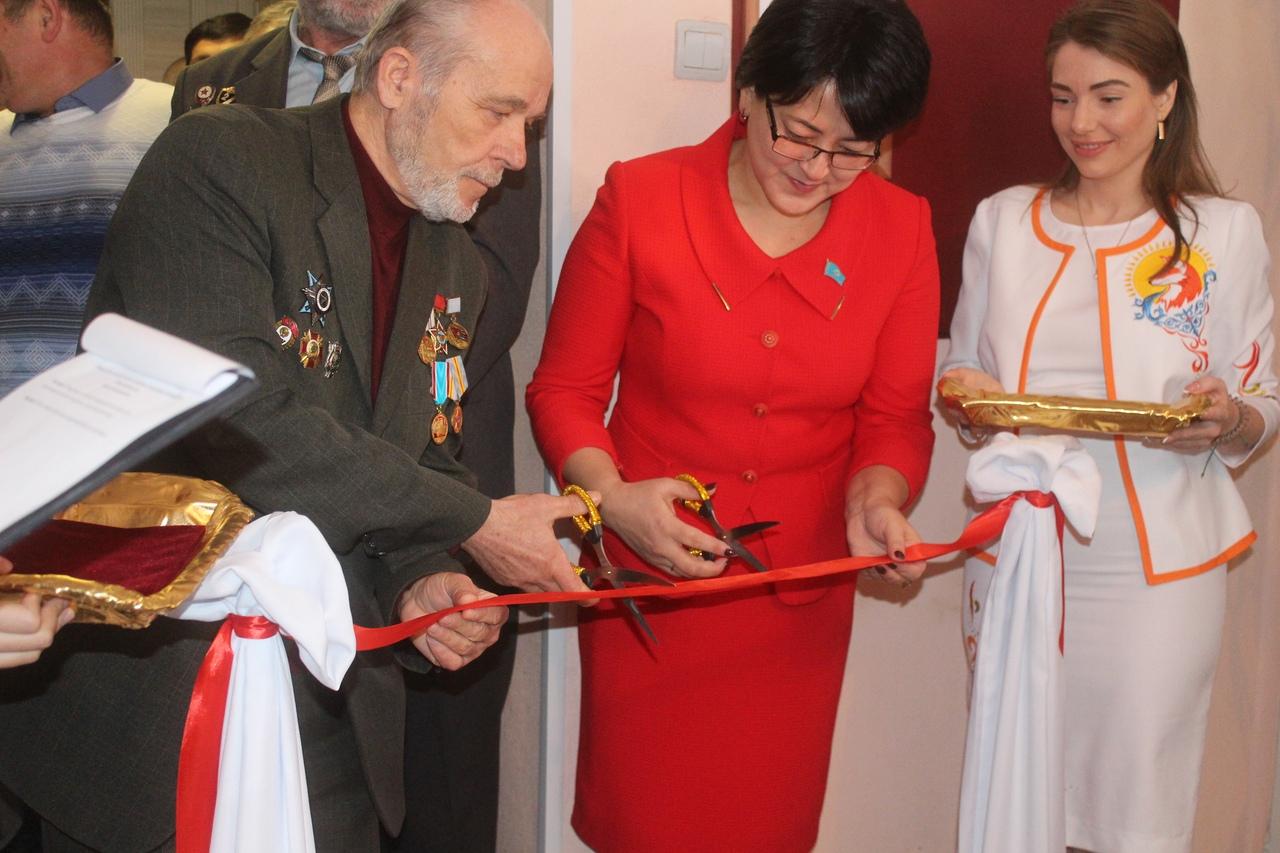 Открыт музей воинской славы