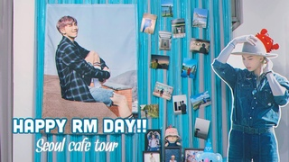 [ARMY VLOG] HAPPY RM DAY! 💙  BTS RM Birthday Tour in Seoul 🎉