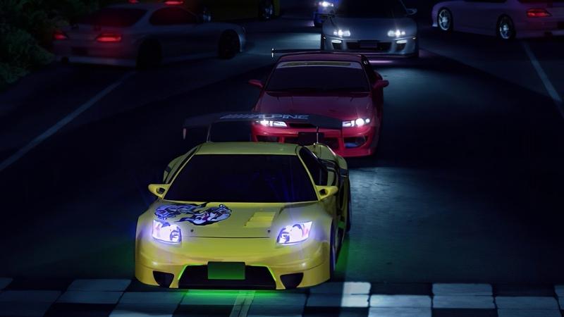 Kaido Battle 3 Intro 4K Remastered Tokyo Xtreme Racer Drift 2