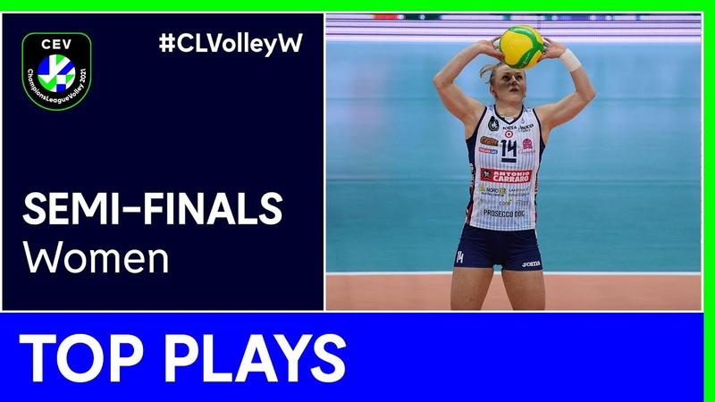 Top 5 Plays Semi Finals CLVolleyW