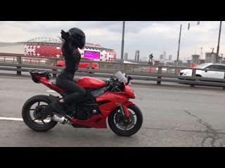 полетели🦅 #мототаня девушка на мотоцикле