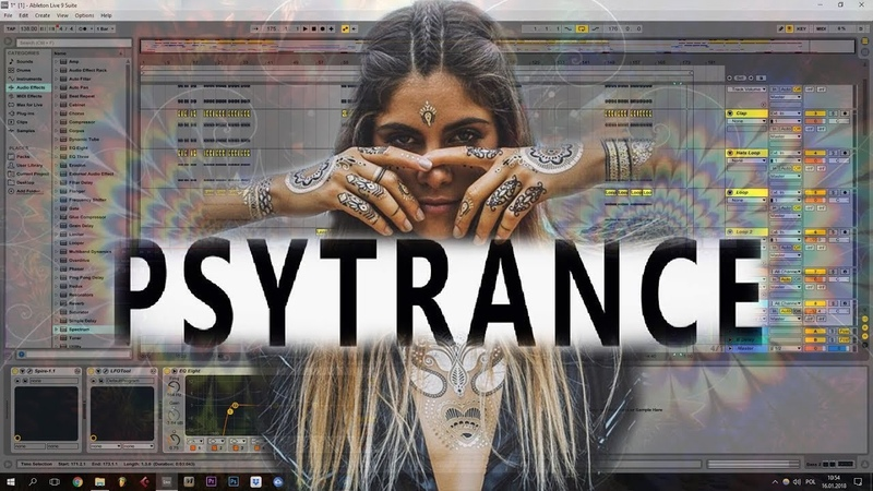 PSYTRANCE Ableton Template Vini Vici Liquid Soul Style Project