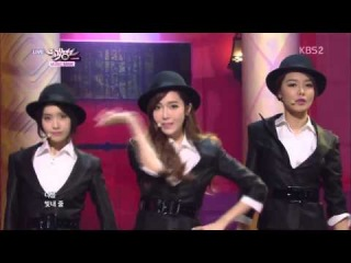 [1080p HD] 140307 SNSD - . @ Music Bank Comeback Stage