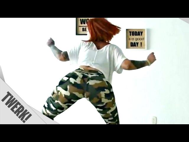 WOW Jennifer Aboul Big Booty Twerking to Daddy Yankee Hula Hoop jenniferaboulsuicide