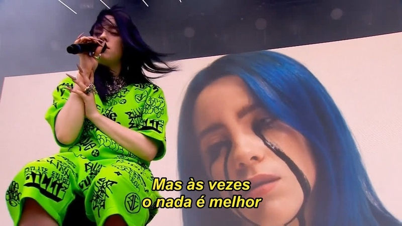 Billie Eilish - when the party's over (Legendado) - Ao Vivo