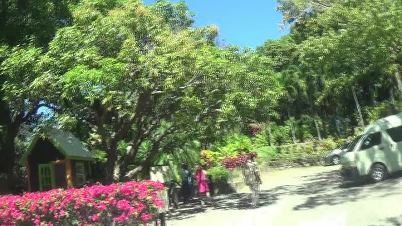 о СЕНТ КИТИС и НЕВИС Гваделупа Бастер В центре столицы иммется сквер изумительной красоты
