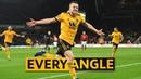 Jota v Manchester United | Every Angle