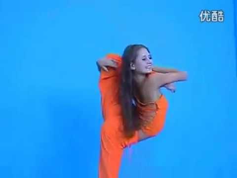 Irina Kazakova contortion 2