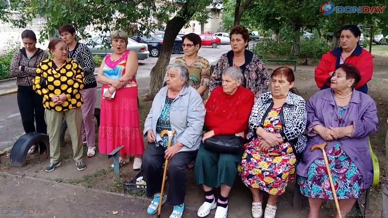Donday В Новочеркасске жильцы пятиэтажек протестуют против строительства ларьков у них под окнами