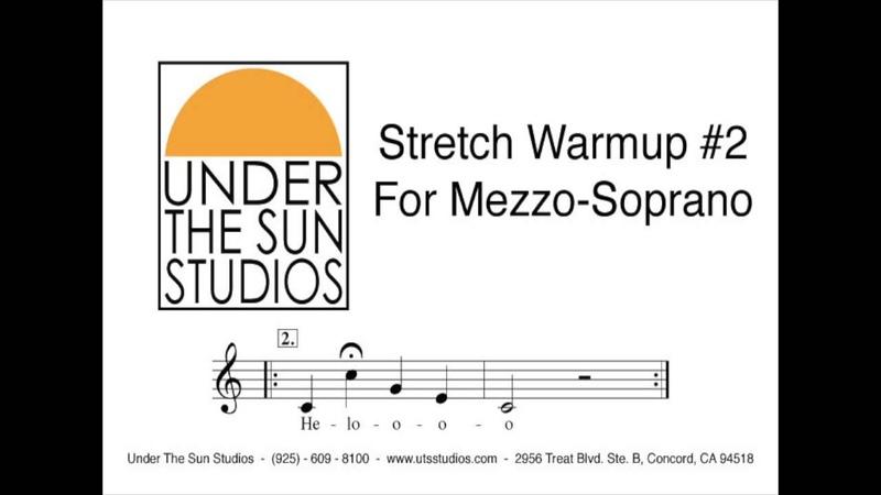 Vocal Stretch Warmup 2 For Mezzo Soprano