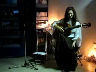 Анастасия Шугалей в арт-клубе ЖУК -2