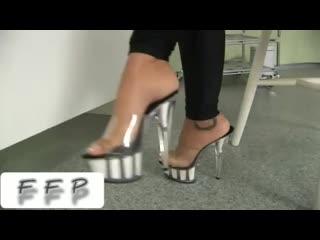 Black Angelika [ feet, footjob, footfetish ]