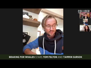 Tom Felton and Tammin Sursok on Making Braking for Whales Like A Band of Pirates
