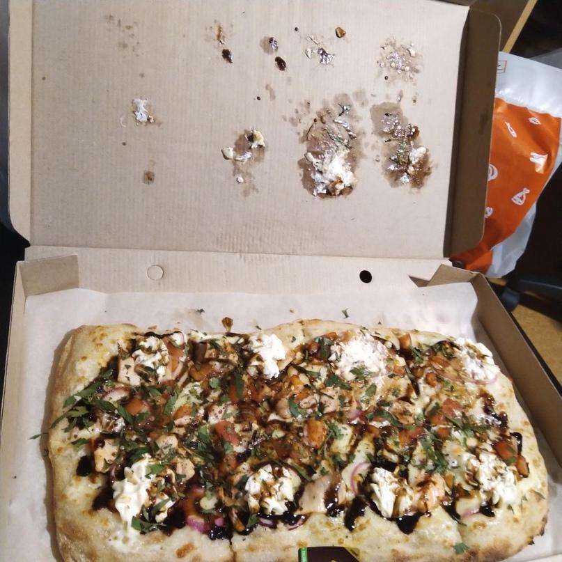 Если хотите на свидании испражняться всю ночь в туалете - заказывайте в Хоум Пицца 🤮💩