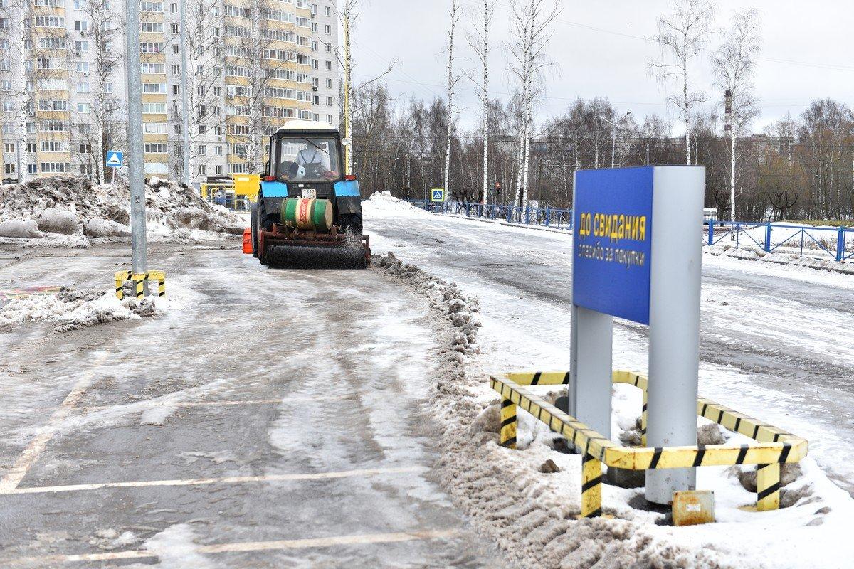 Предпринимателям напоминают об обязанности убирать снег и лёд с прилегающих территорий
