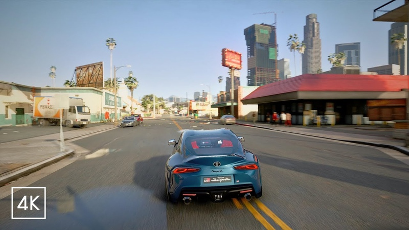 Grand Theft Auto V Next Gen Graphics Demo for PlayStation 5