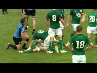Rugby - Emerging Ireland vs Uruguay - FULL MATCH IRB Nations Cup 2014