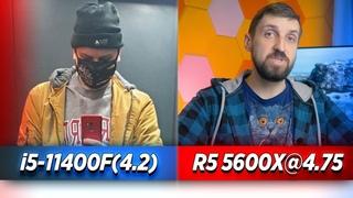 i5-11400F vs Ryzen 5600X in 24 Games
