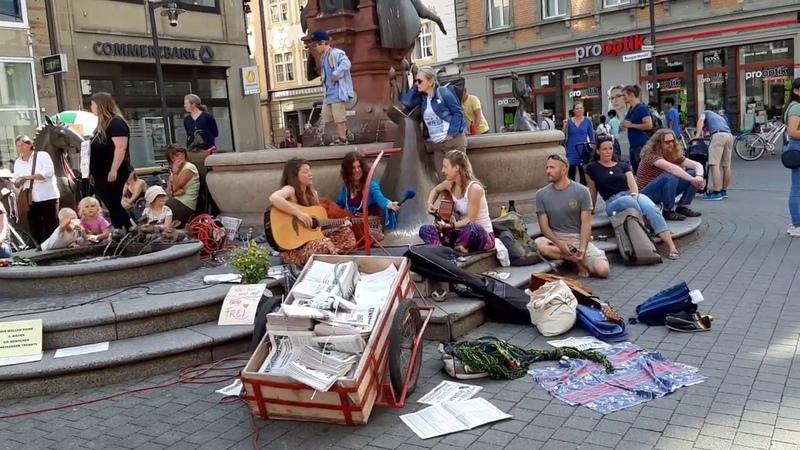 5 Demonstration Konstanz 9 5 2020 Wahrung der Grundrechte