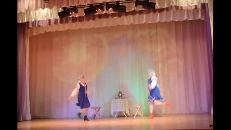 Солистки семейного танцевального клуба Мамы ПЛЮС Зоя Домбаева и Марина Аверьянова ДВЕ ПОДРУЖКИ