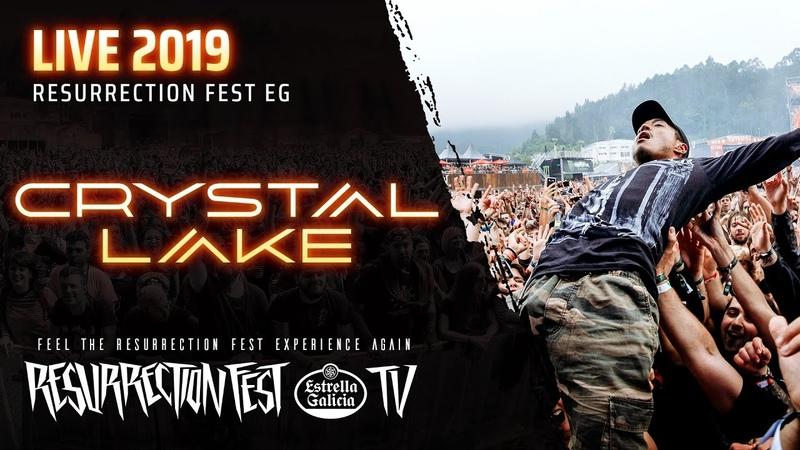Crystal Lake Live at Resurrection Fest EG 2019 Viveiro Spain Full Show Pro Shot
