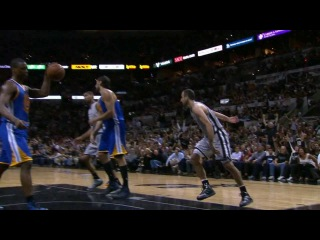International Play of the Day: Ginobili's Rack Attack