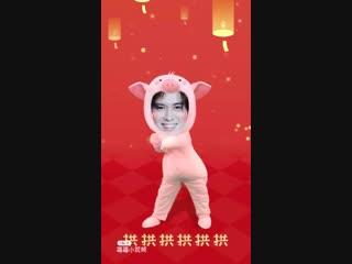Baron chen/陈楚河. chinese new year 2019.