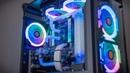 Timelapse Build Threadripper mATX RGBeast PC Porn