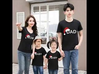 Одежда для мамы и дочки одинаковые комплекты всей семьи папы ребенка рубашка сына рождественская