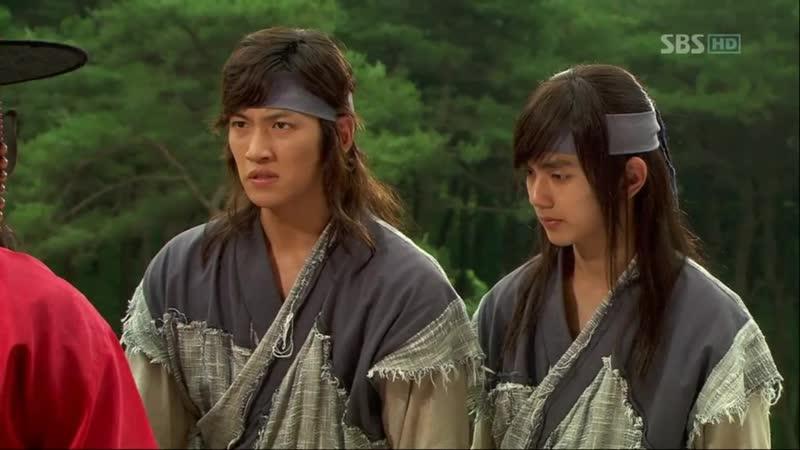 Эпизод из дорамы Воин Пэк Тон Су 10 серия Не волнуйтесь Ваше высочество ребята не подведут