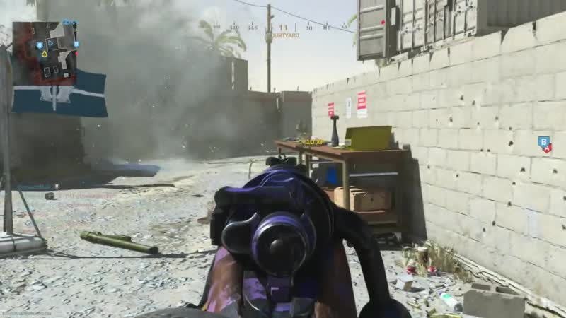 Spawned back on top of my own semtex Bit tired of the spawns Modern Warfare