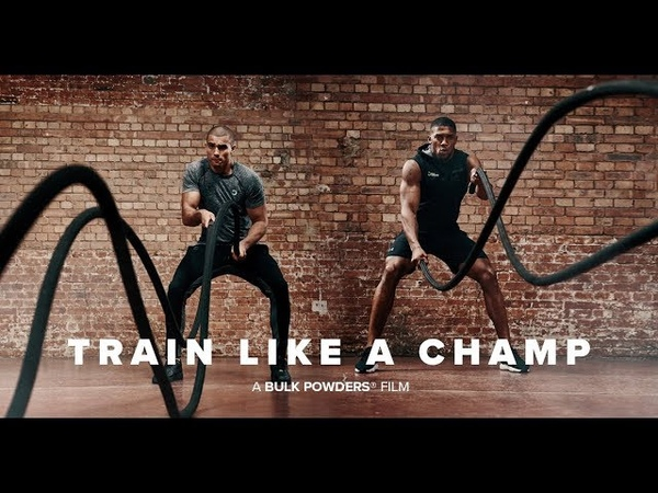Anthony Joshua Train Like a Champ BULK POWDERS®