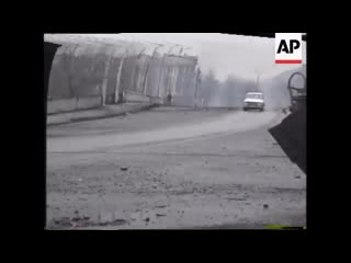 Грозный, война 1995 год