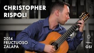 "Antônio Carlos Jobim's ""A Felicidade"" performed by Christopher Rispoli on a 2014 Fructuoso Zalapa (2021)"