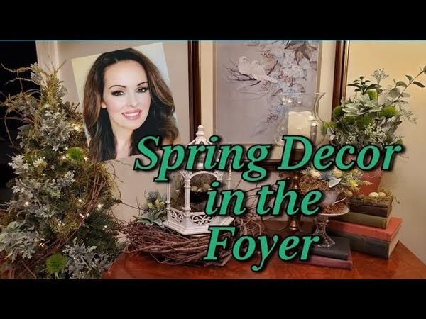Spring Décor Foyer *Teacup Bird Nest*