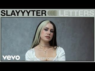 Slayyyter - Letters (Live Performance) | Vevo