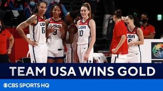 Team USA Women's Basketball Wins Gold | Tokyo Olympics | CBS Sports HQ