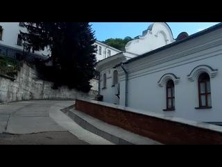 Святогорская Лавра: дорога к памятнику Артёму, к Скиту и к Меловым пещерам