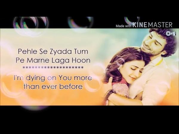 Jeene Laga Hoon | Atif Aslam Song|Shreya Ghoshal |Ramaiya Vastavaiya Hit song lyrics| Lyrical videos