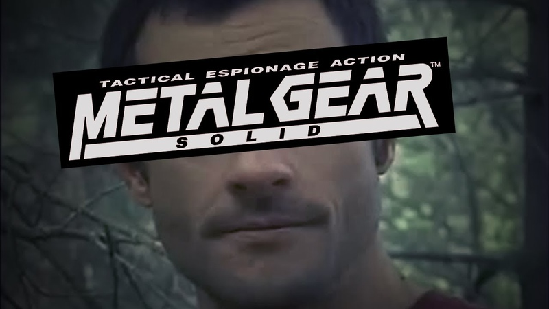 Metal Gear Solid but it s Oh shit I m sorry edition