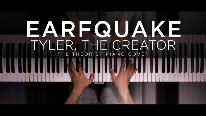 Tyler The Creator EARFQUAKE The Theorist Piano Cover