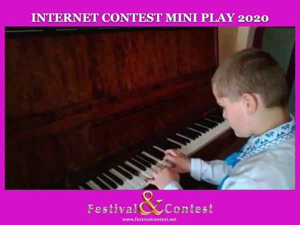 Web Art Festival Contest Kalinkin Mark Piano MINI PLAY 0556 2020