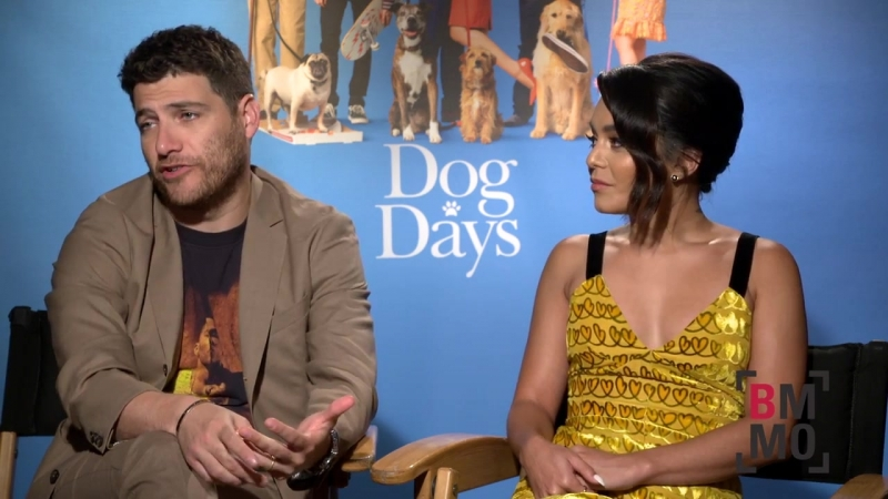 Vanessa Hudgens Adam Pally Interview - Dog Days