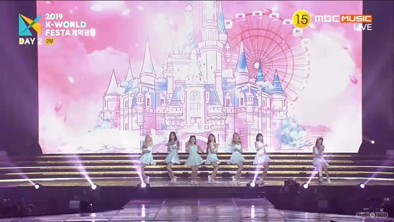 · Perfomance · 190816 · OH MY GIRL Bungee The Fifth Season · 2019 K World Festa ·