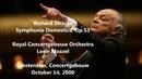 Richard Strauss Symphonia Domestica Lorin Maazel HD 1080p Audio video